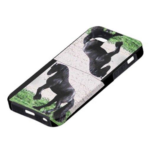 Alzar el frisio iPhone 5 Case-Mate cobertura