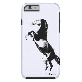 Alzar la caja dura del iPhone 6 del caballo Funda Para iPhone 6 Tough