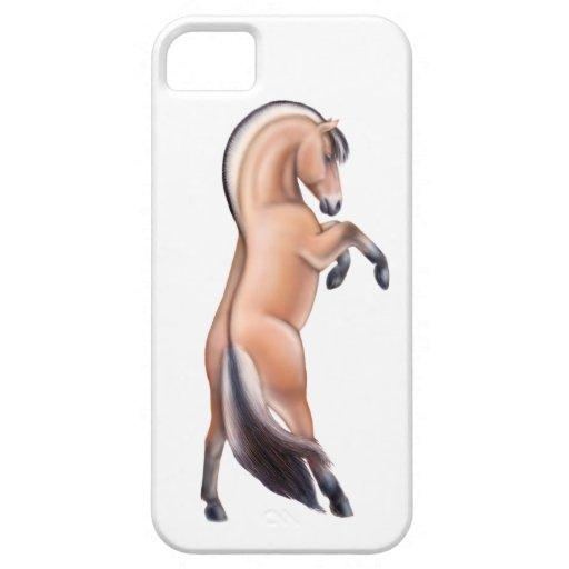 Alzar la caja noruega del iPhone 5 del caballo del iPhone 5 Case-Mate Protector