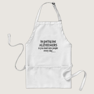 Alzheimer's copy adult apron