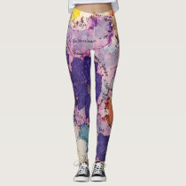 Alzheimer's Awareness Leggings