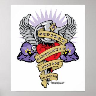 Alzheimer s Dagger Poster