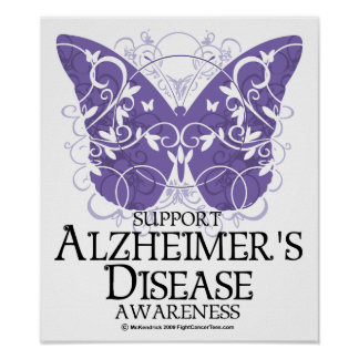 Alzheimer s Disease Butterfly Posters