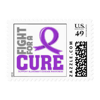 Alzheimer's Disease Fight For A Cure Stamp