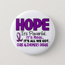 Alzheimer's Disease HOPE 1 Button