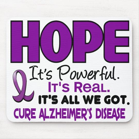 Alzheimer's Disease HOPE 1 Mouse Pad
