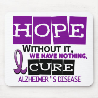 Alzheimer's Disease HOPE 2 Mouse Pad