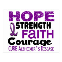 Alzheimer's Disease HOPE 3 Postcard
