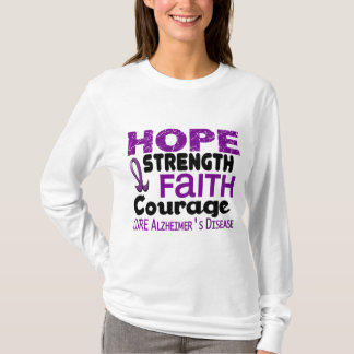 Alzheimer's Disease HOPE 3 T-Shirt