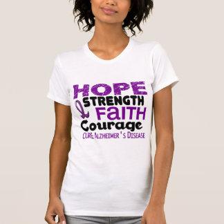 Alzheimer's Disease HOPE 3 T-Shirt