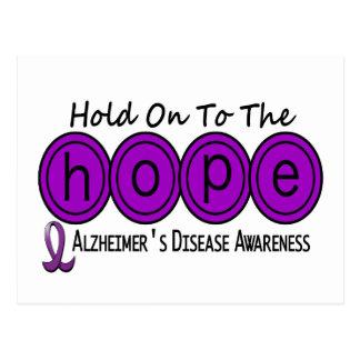 Alzheimer's Disease HOPE 6 Postcard