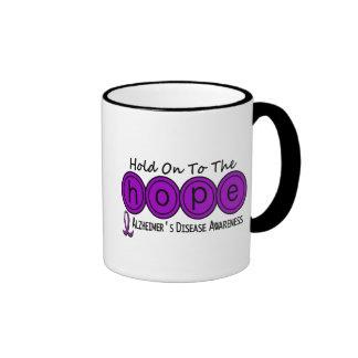 Alzheimer's Disease HOPE 6 Ringer Coffee Mug