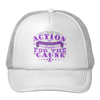 Alzheimer's Disease Take Action Fight Hats