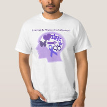 Alzheimer's Awareness A Life Well Lived T-Shirt S