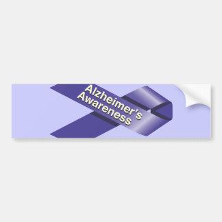 Alzheimer's Awareness Bumper Sticker