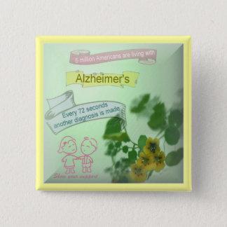 Alzheimers Awareness Button