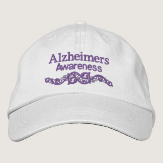 Alzheimers Awareness Custom Embroidered Hat