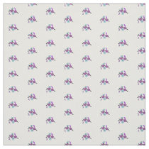 Alzheimers awareness fabric
