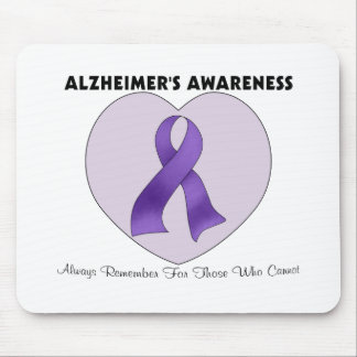 Alzheimer's Awareness Mouse Pad