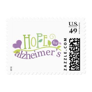 Alzheimers Awareness Stamp