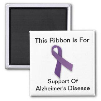 Alzheimer's Awareness - Square Magnet