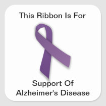 Alzheimer's Awareness - Stickers