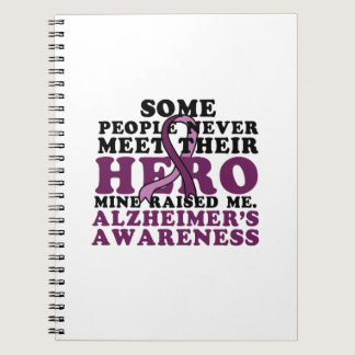 Alzheimer's Awareness Support Gif Notebook