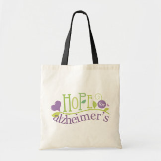 Alzheimers Awareness Tote Bag