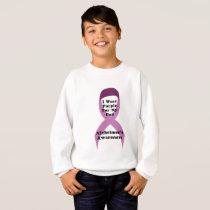 Alzheimers Awareness Wear For My Dad Gif Sweatshirt