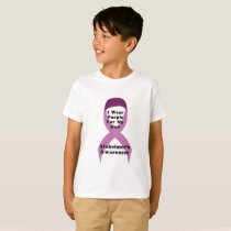 Alzheimers Awareness Wear For My Dad Gif T-Shirt