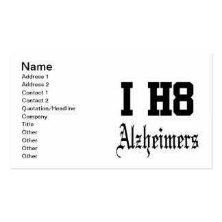 alzheimers business card templates