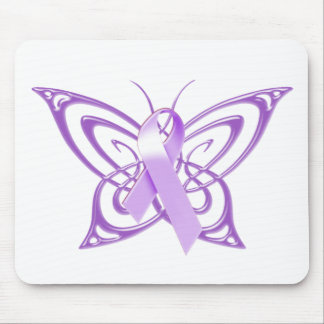 Alzheimer's Butterfly Mouse Pad