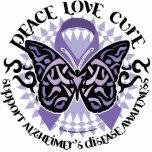 Alzheimers Butterfly Tribal 2 Photo Cutout