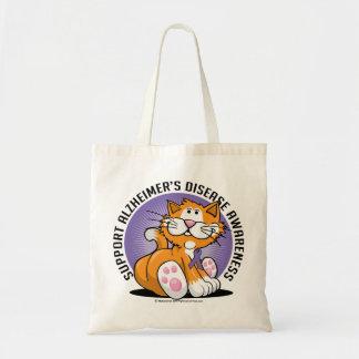 Alzheimers Cat Tote Bag