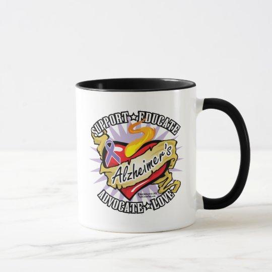 Alzheimers Classic Heart Mug