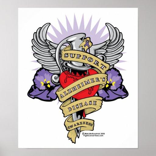 Alzheimer's Dagger Poster