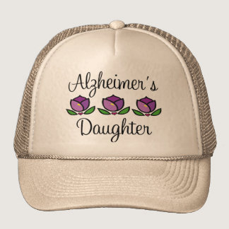Alzheimer's Daughter Cap Trucker Hat