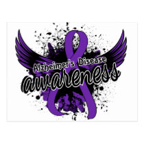 Alzheimer's Disease Awareness 16 Postcard