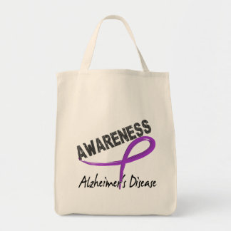 Alzheimer's Disease Awareness 3 Tote Bag