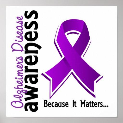 Alzheimer's Disease Awareness 5 Print