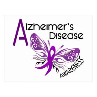 Alzheimer's Disease BUTTERFLY 3 Awareness Postcard