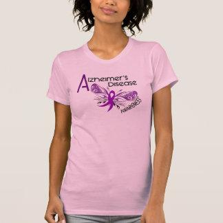 Alzheimer's Disease BUTTERFLY 3 Awareness T-Shirt
