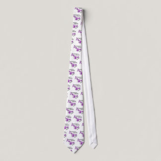 Alzheimer's Disease BUTTERFLY 3 Awareness Tie