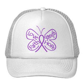 Alzheimers Disease Butterfly Inspiring Words Trucker Hat