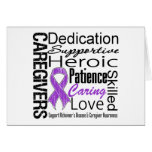 Alzheimers Disease Caregivers Collage Card