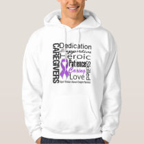 Alzheimers Disease Caregivers Collage Hoodie
