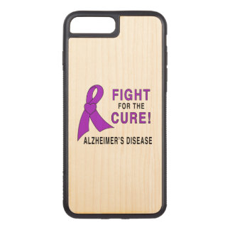Alzheimer's Disease Carved iPhone 7 Plus Case