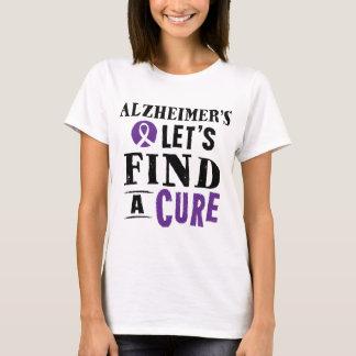 Alzheimer's Disease Cure Awareness T-Shirt