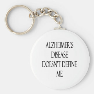 Alzheimer's Disease Doesn't Define Me Keychain