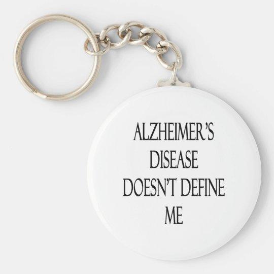 Alzheimer's Disease Doesn't Define Me Keychain